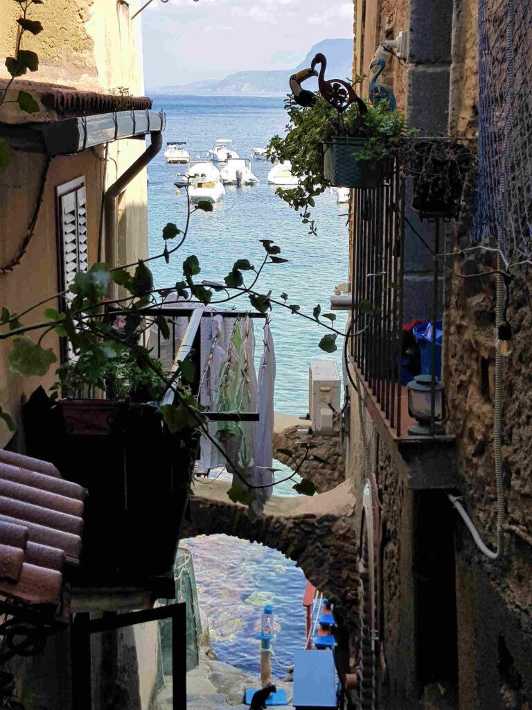 Borgo di Chianalea di Scilla, in Calabria