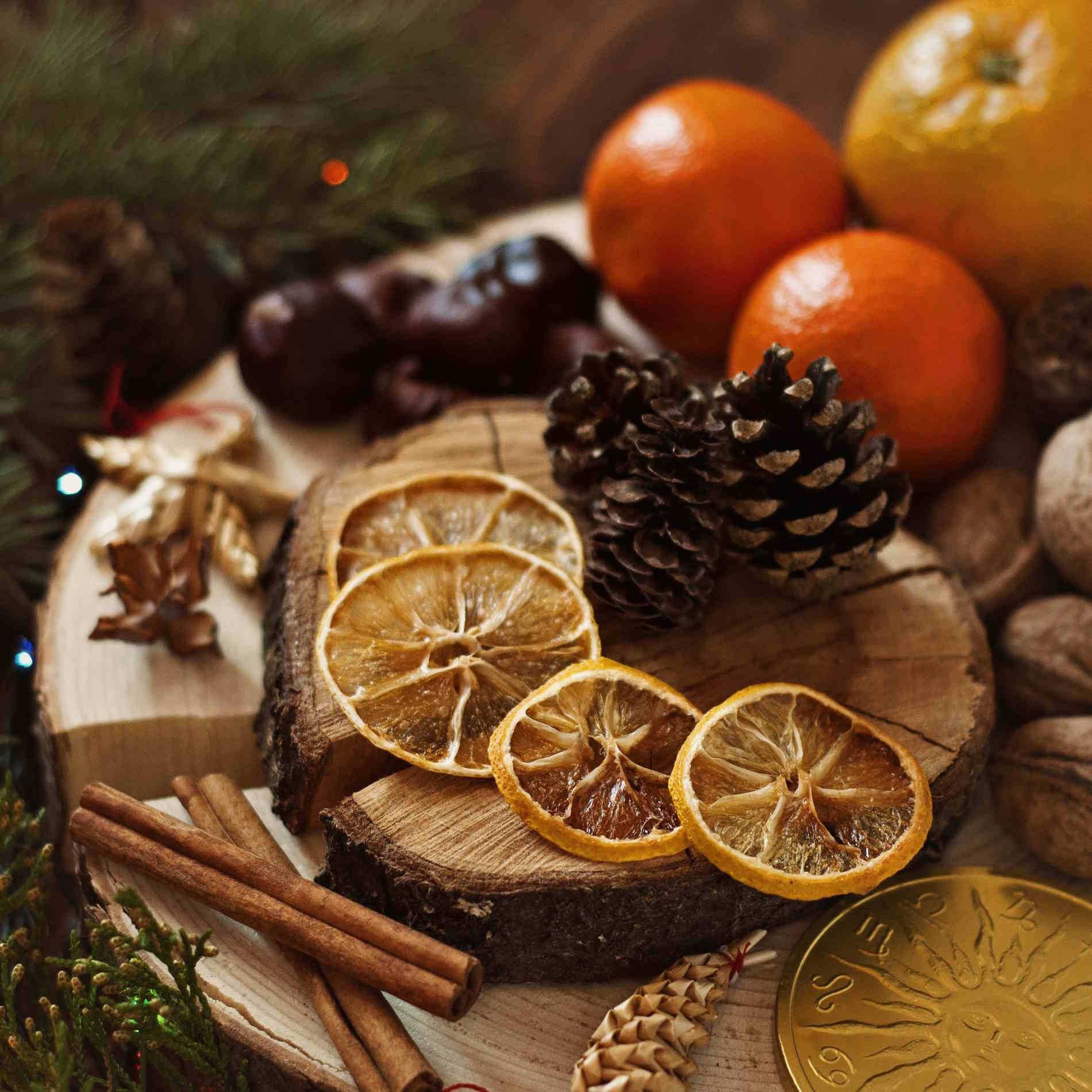 Aromi e profumi dalle ricette tipiche italiane tradizionali