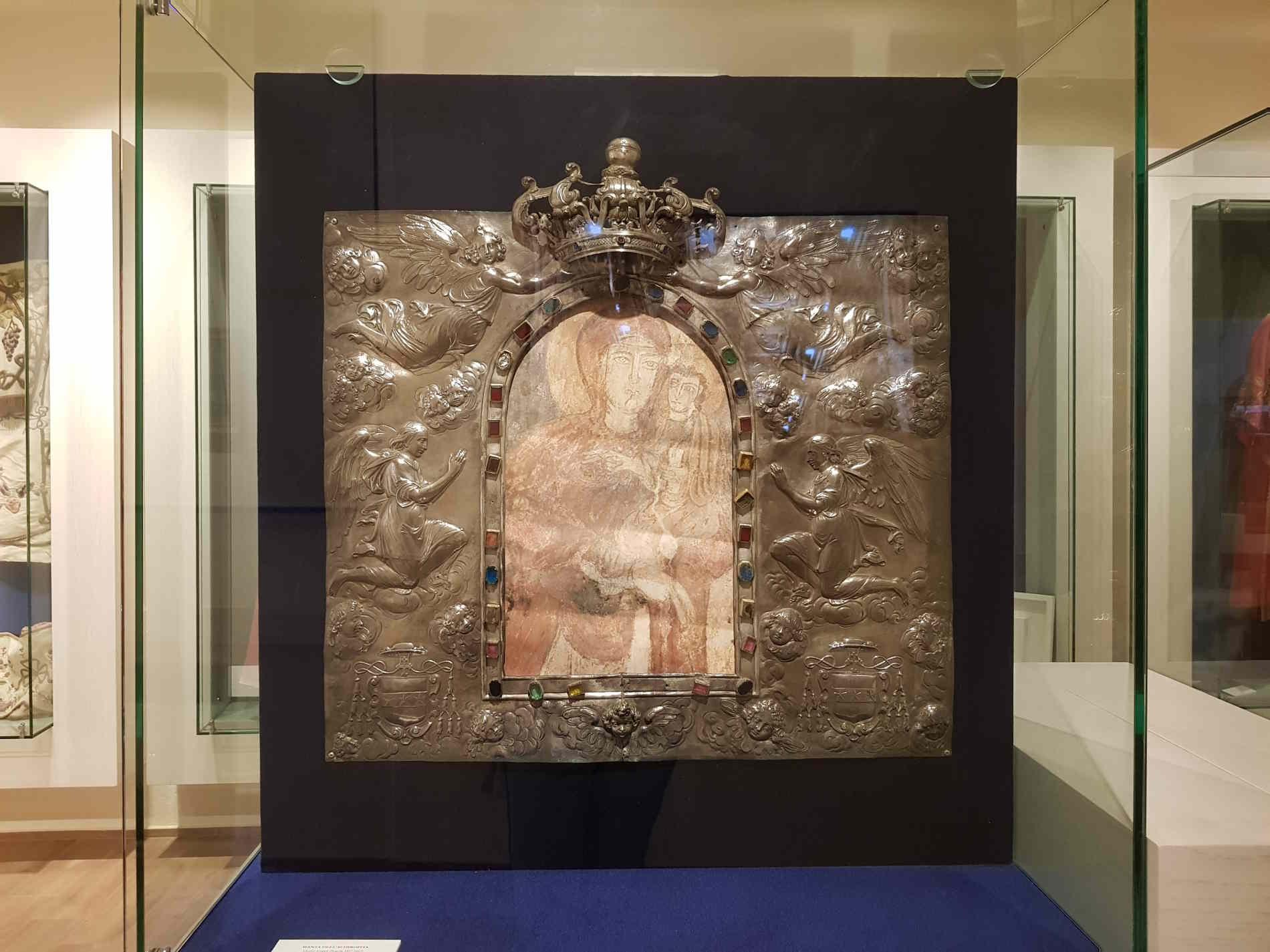 Manta dell'Achiropita di Orazio Scoppa - XVII secolo al Museo Diocesano e del Codex di Rossano