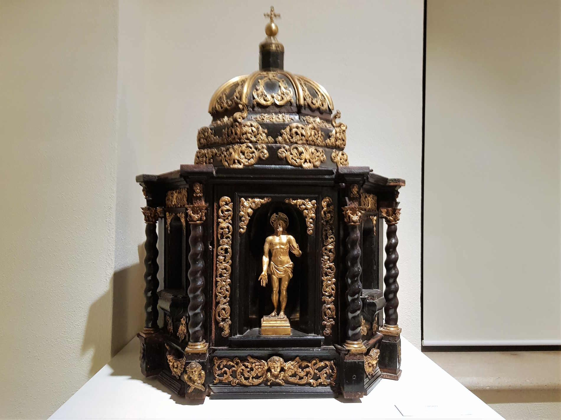 Tabernacolo di ebano e bronzo al Museo Diocesano e del Codex a Rossano