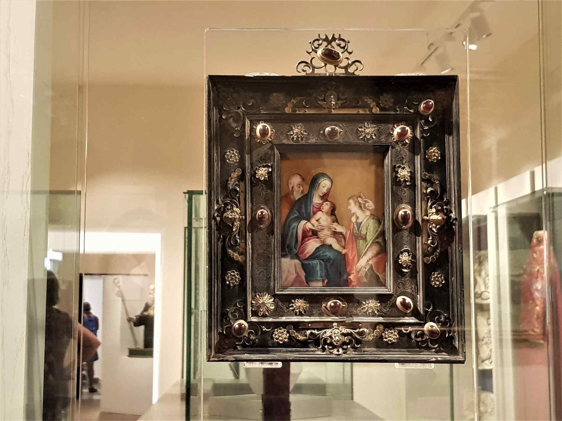 La Tavoletta della Pace al Museo Diocesano e del Codex a Rossano