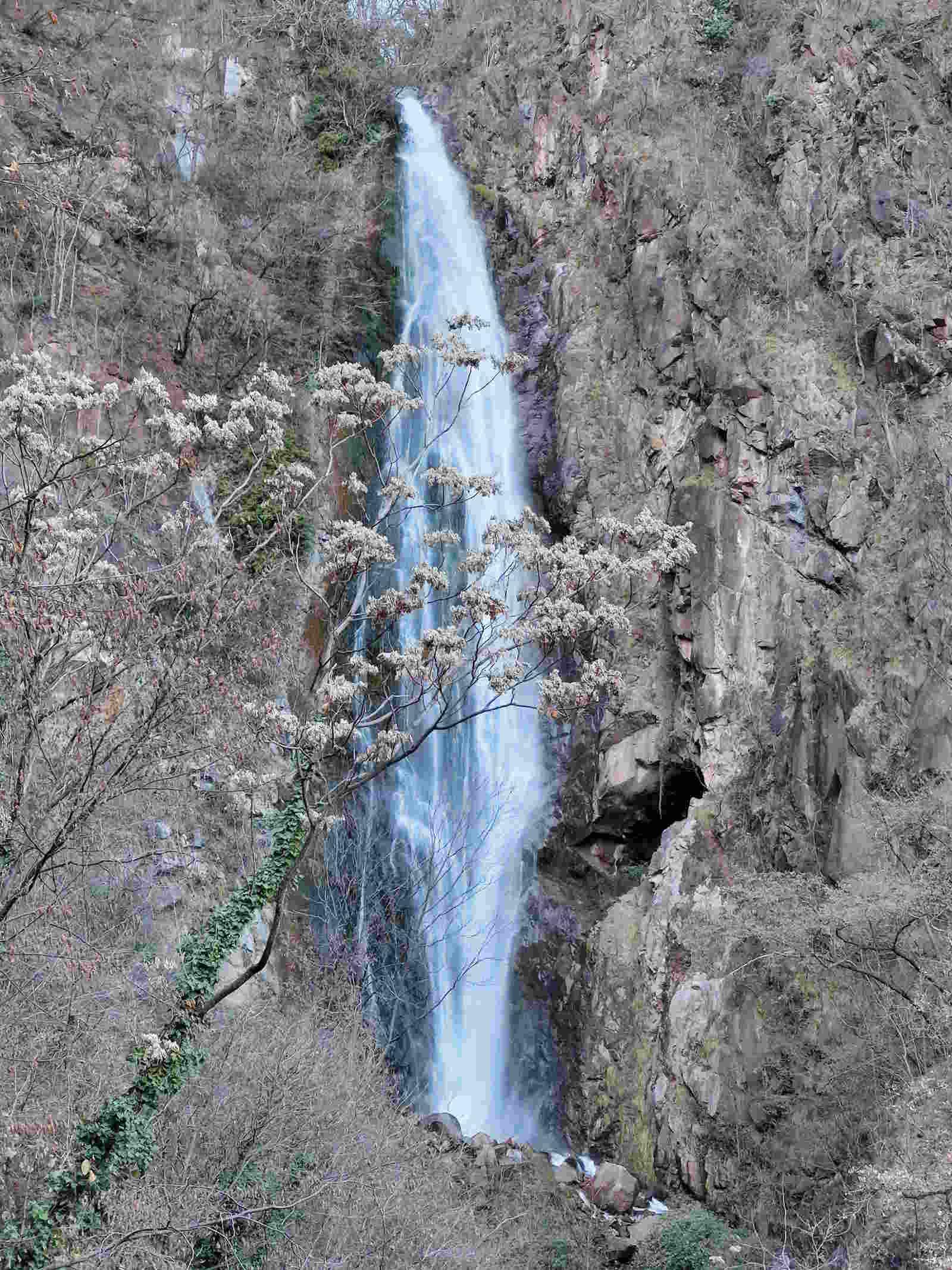 Le cascate del Rio Fago lungo la passeggiata da Gries al Talvera a Bolzano Alto Adige
