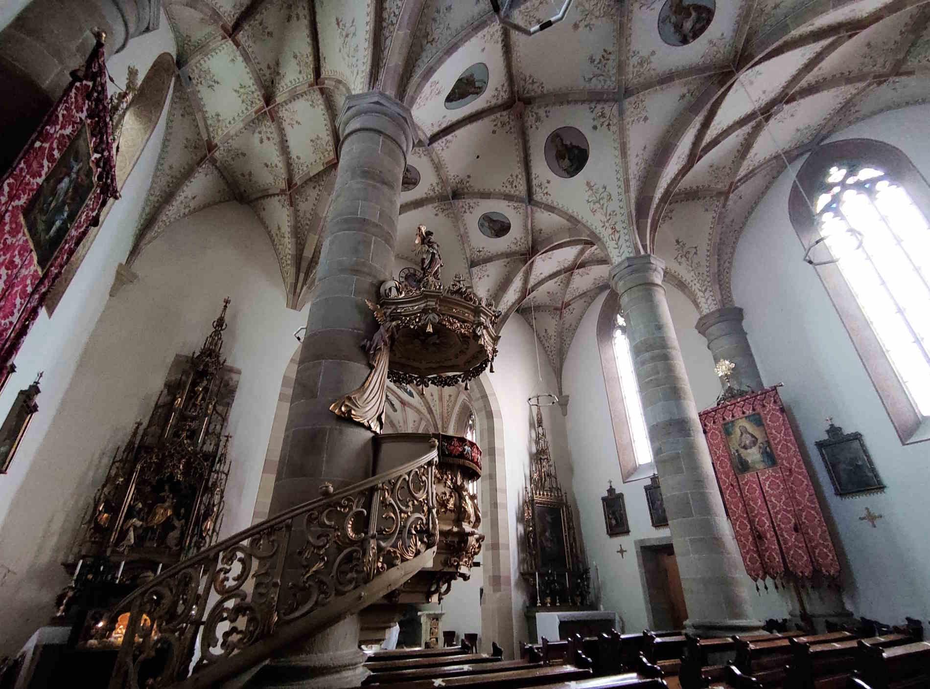 Interno Chiesa Santa Maria Assunta Fiè allo Sciliar