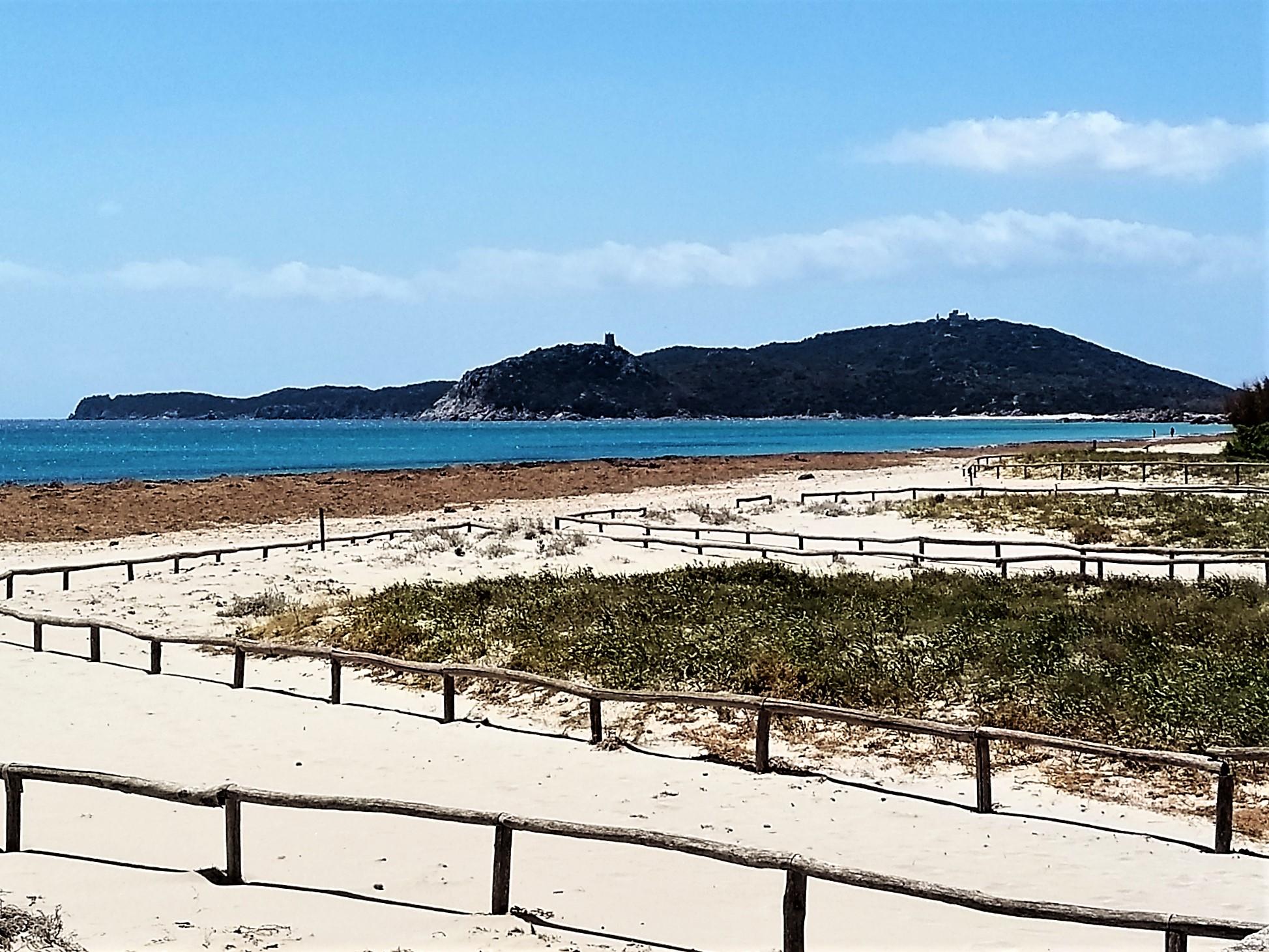 Spiaggia di Simius Villasiumus Sardegna Italia