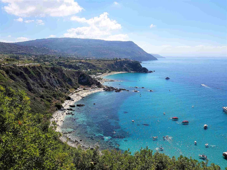 Le spiagge più belle d'Italia in Calabria Capo Vaticano Ricadi Le Grotticelle