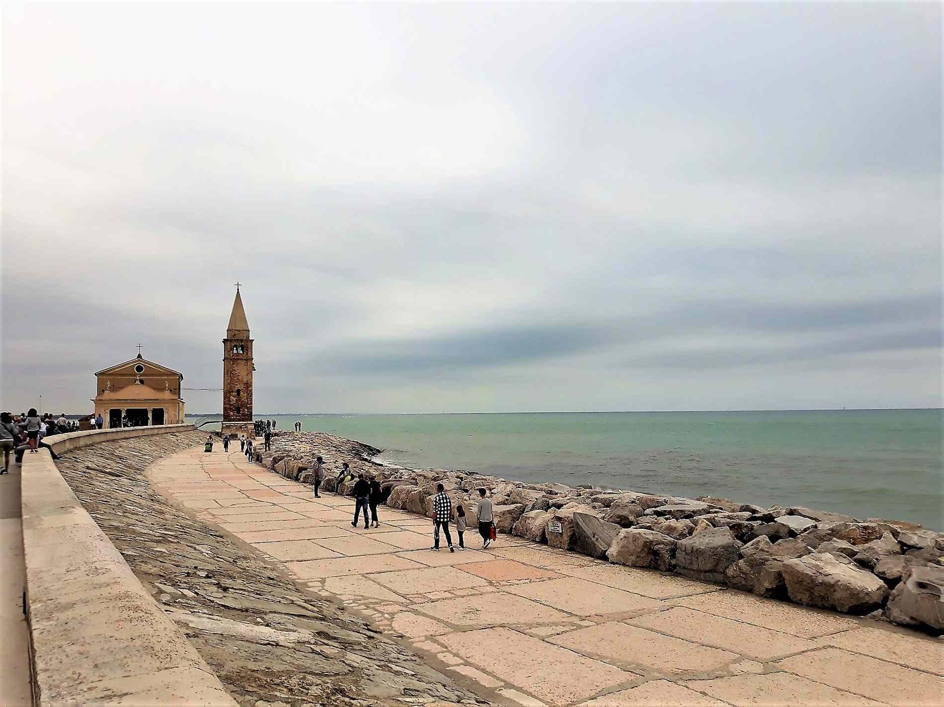 Caorle e il Mare Veneto Italia