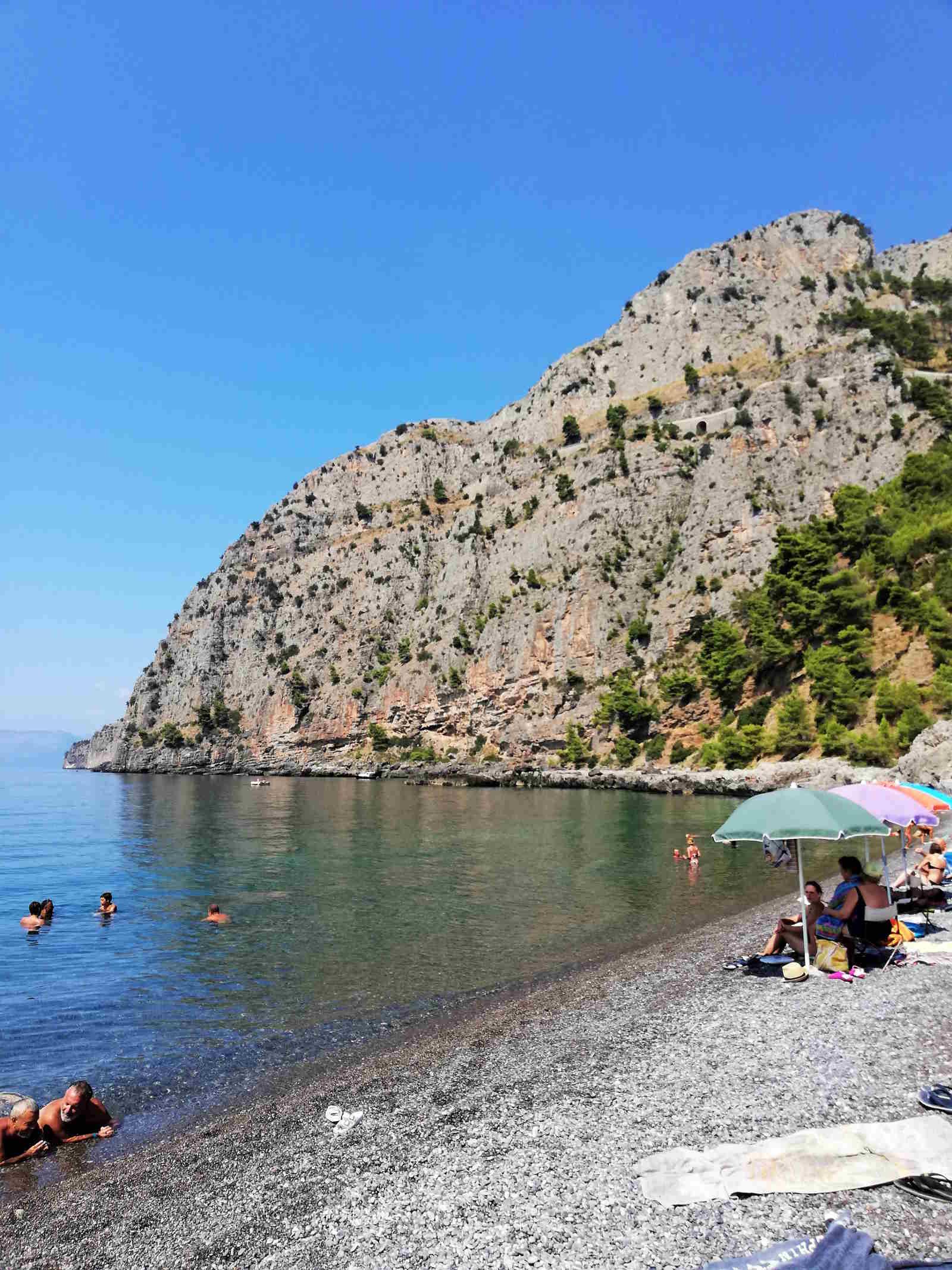 Spiagge più belle d'Italia in Basilicata Spiaggia dell'Anginara ad Acquafredda.