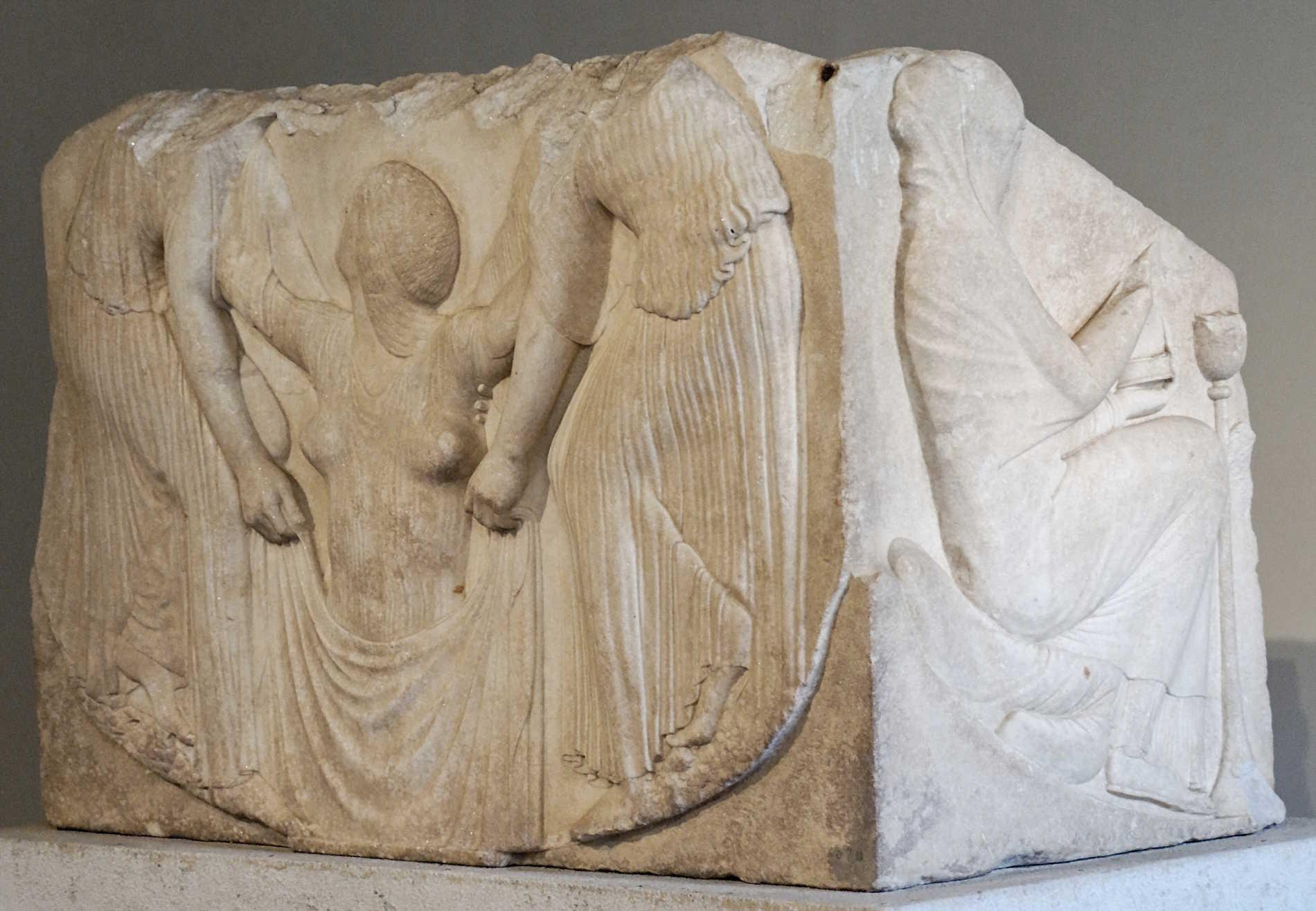 """""""Trono Ludovisi"""", oggi conservato a Roma nel Museo Nazionale di Palazzo Altemps"""