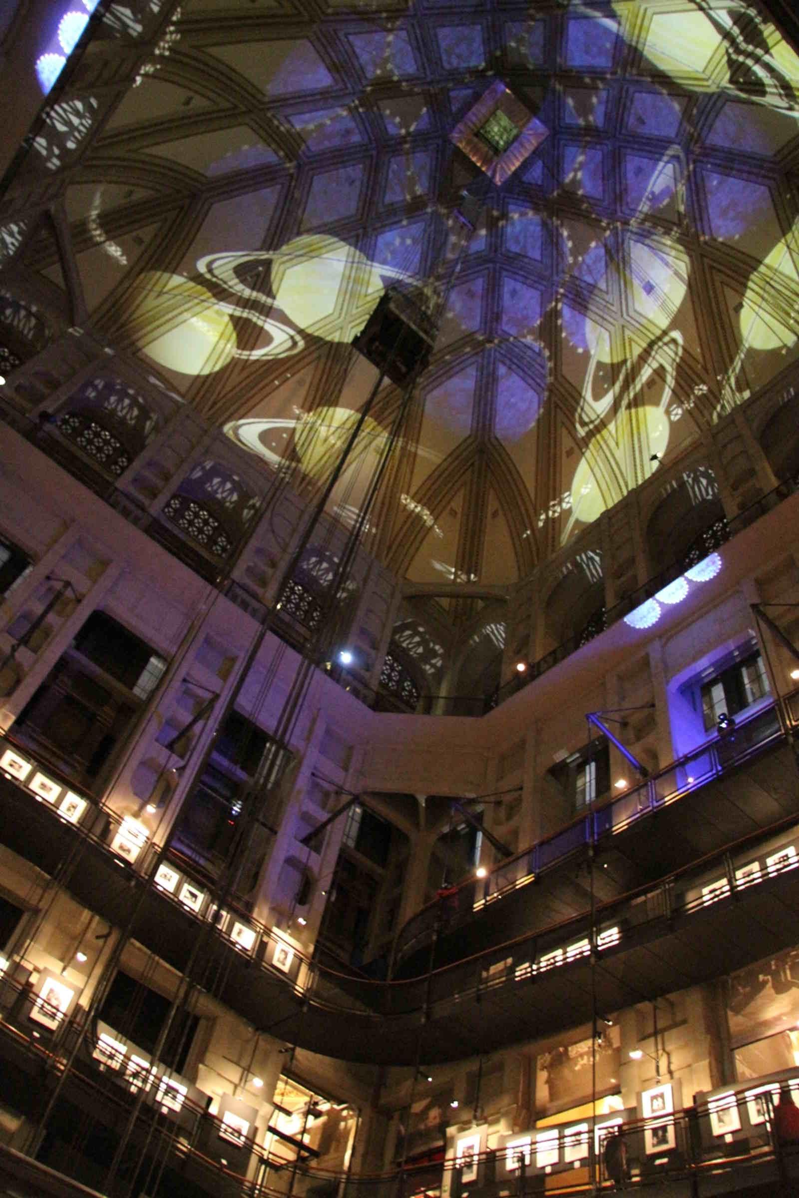 Vista interna della Mole Antonelliana: simbolo di Torino e Ascensore panoramico