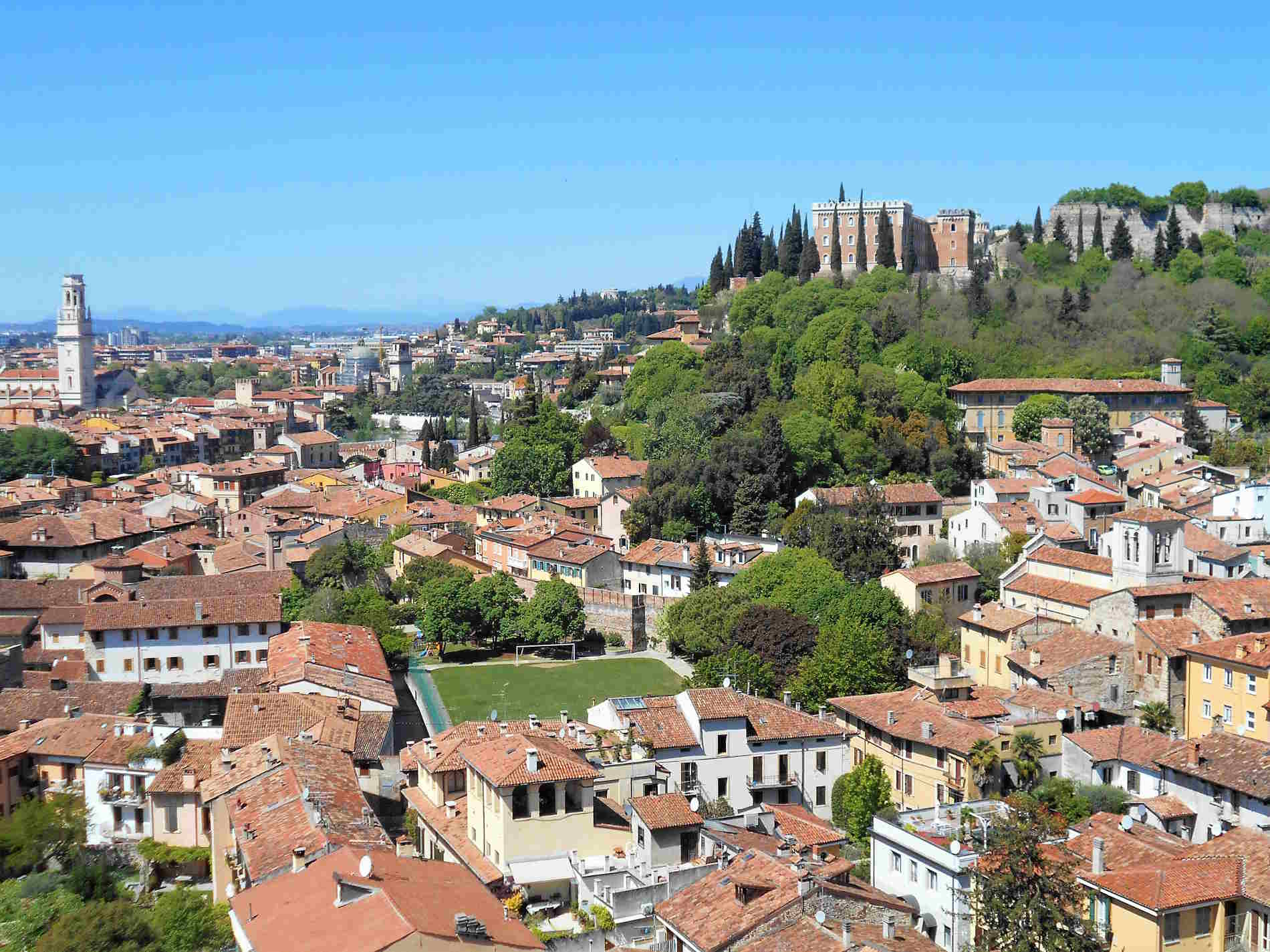 Vista su Verona dal Terrazzo di Monte Castiglione