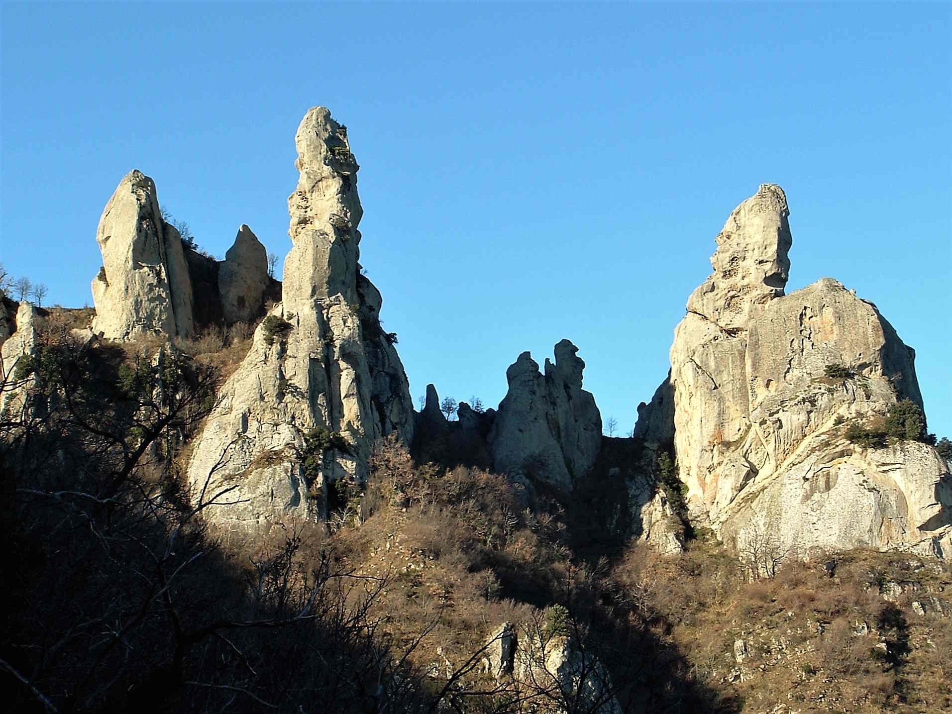 le piccole Dolomiti Lucane luoghi da visitare e vedere in Basilicata