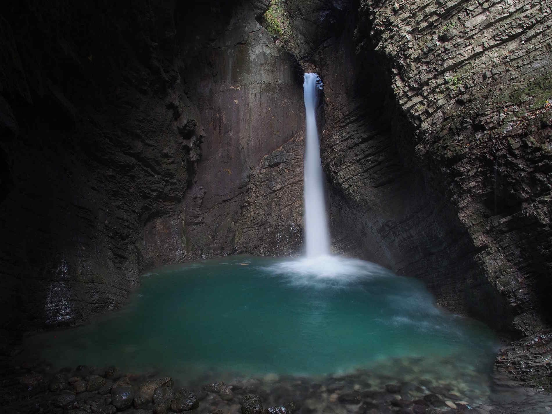 Cose da vedere in un itinerario di Viaggio in Slovenia le Cascate di Slap Kozjak