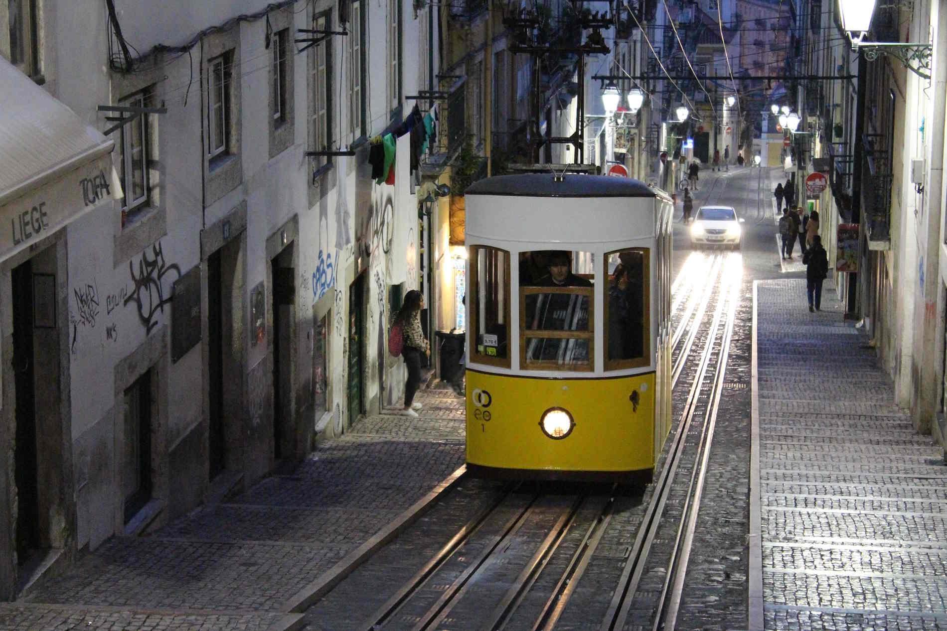 Cose da fare a Lisbona assolutamente capitale del Portogallo. un giro con il tram 28