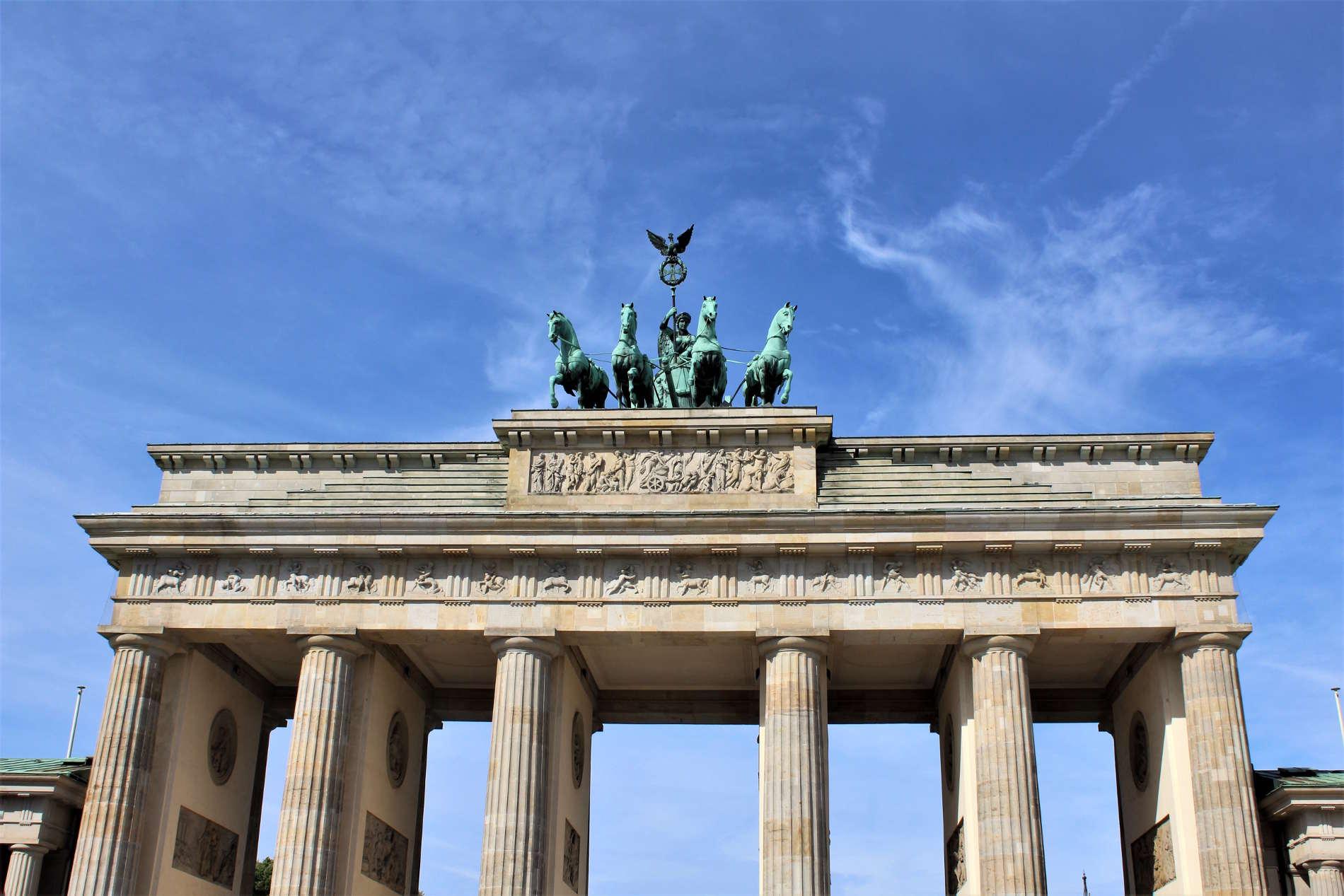 Viaggio nelle capitali europee: Berlino capitale della Germania e il suo simbolo la porta di Brandeburgo