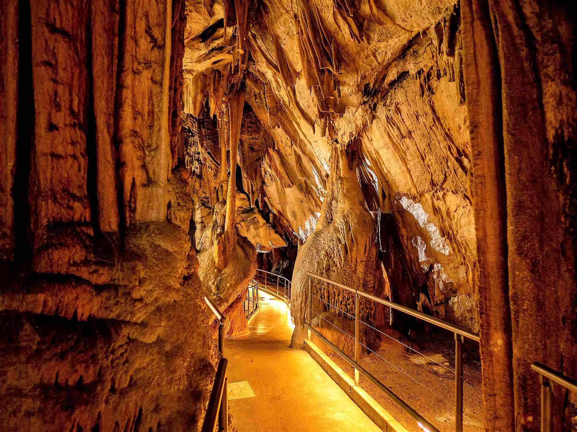 Cose da vedere in Slovenia - le Grotte di Postumia