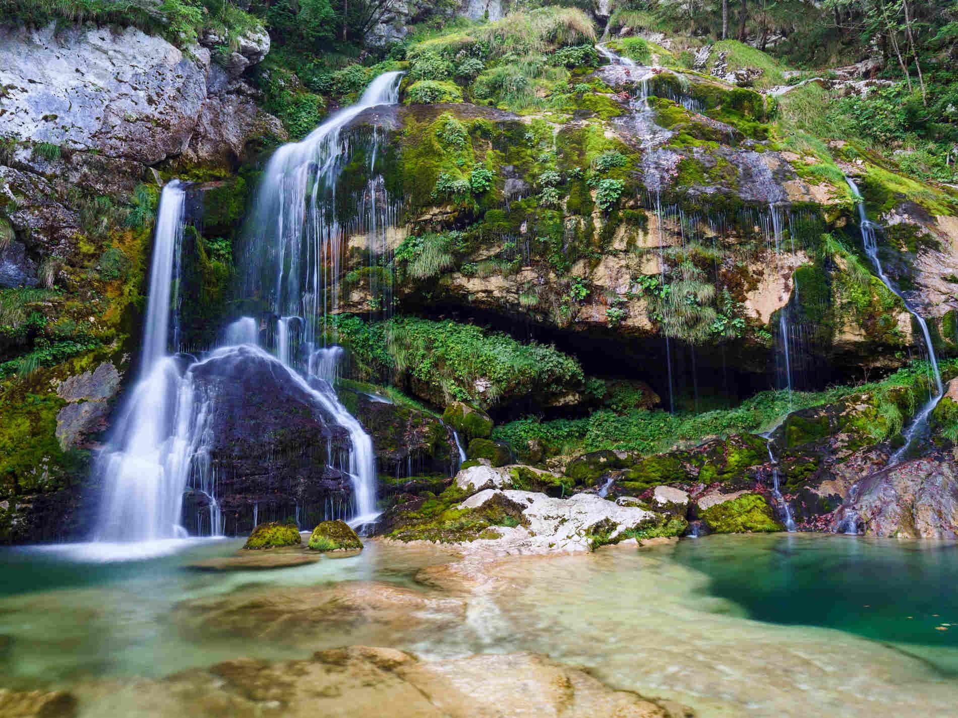 Cose da vedere in un Viaggio in Slovenia - Cascate di Slap Virje