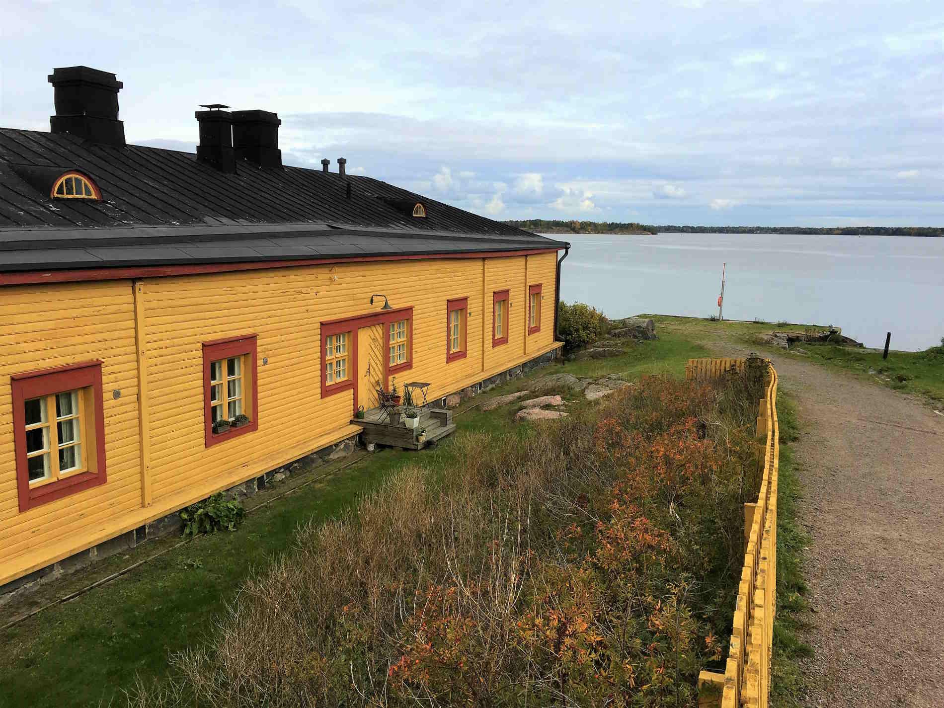 Case tipiche in Finlandia Europa