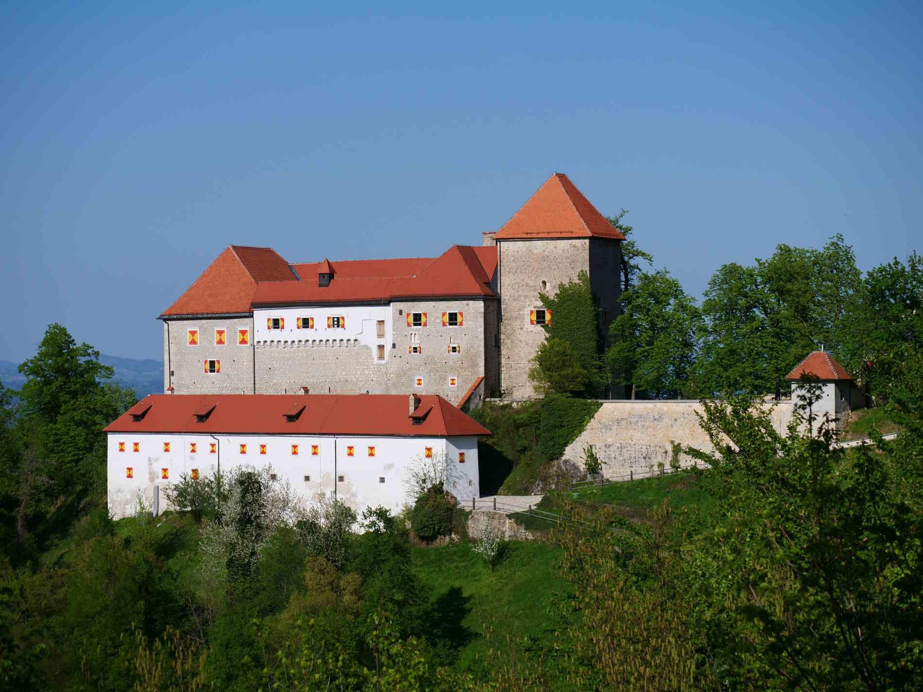 Cose da vedere in u itinerario di Viaggio in Slovenia - Il castello di Podsreda