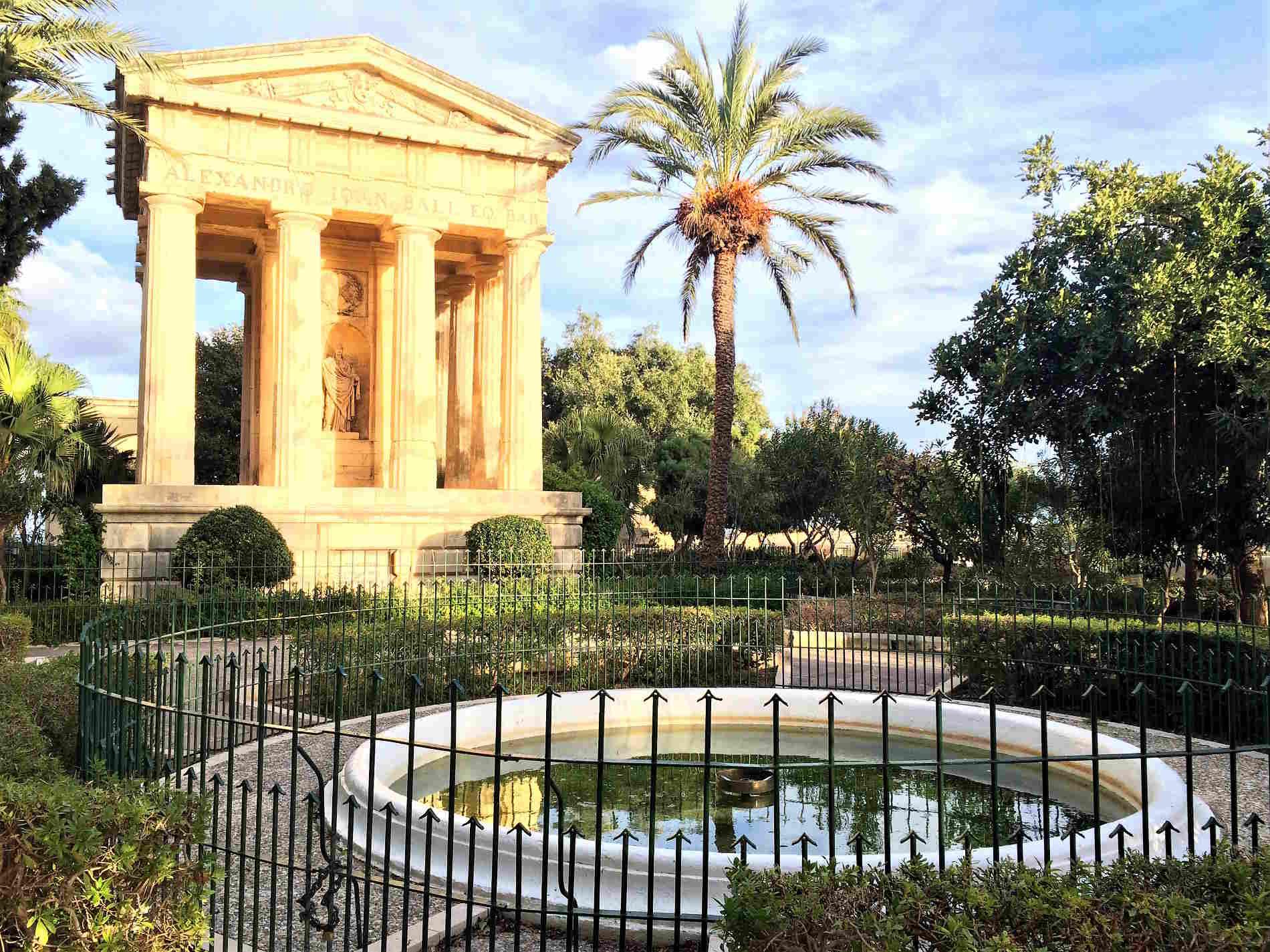 Centro storico del La Valletta capitale di Malta