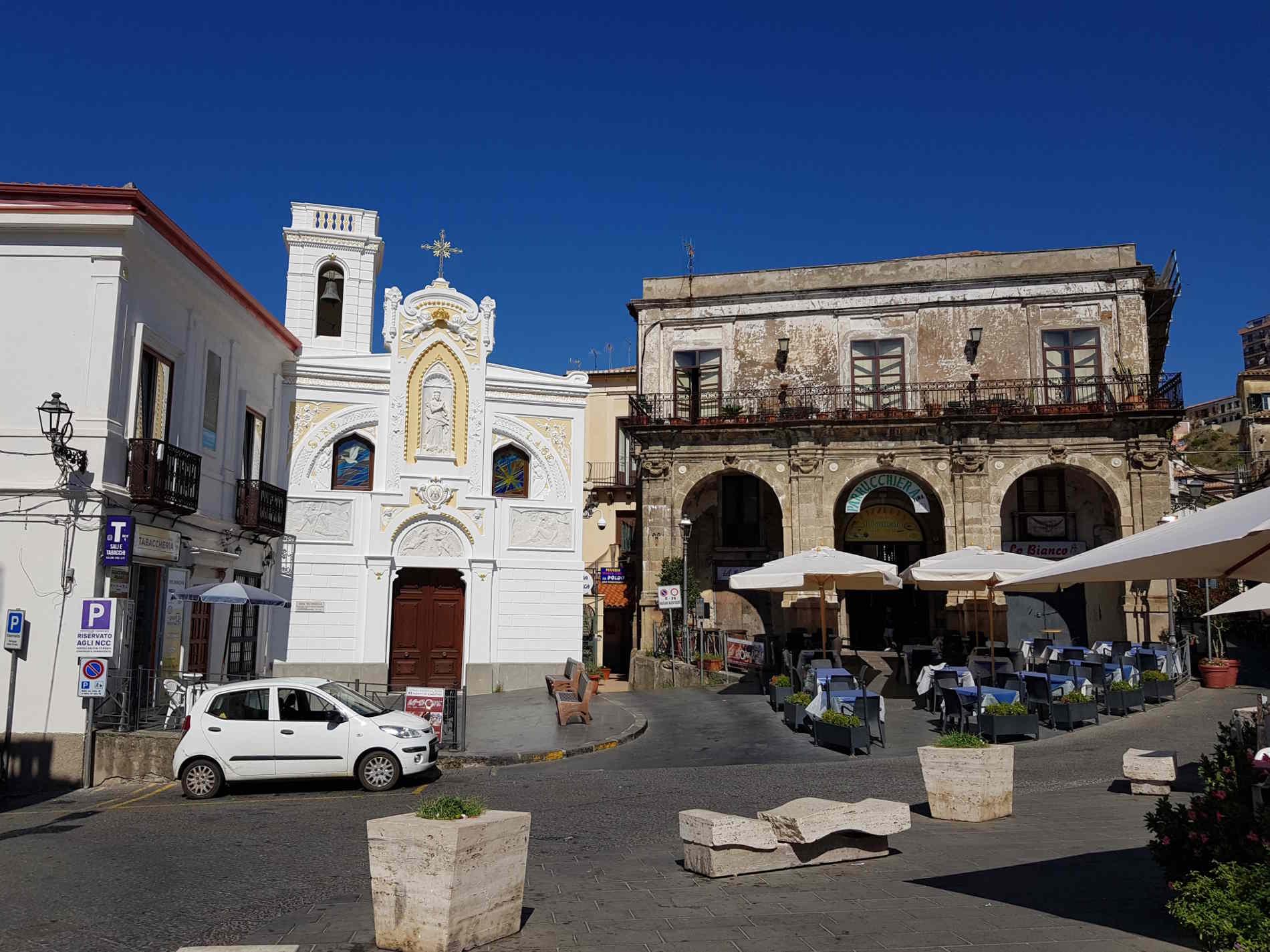 Chiesa dell'Immacolata nel centro storico di Pizzo Calabro