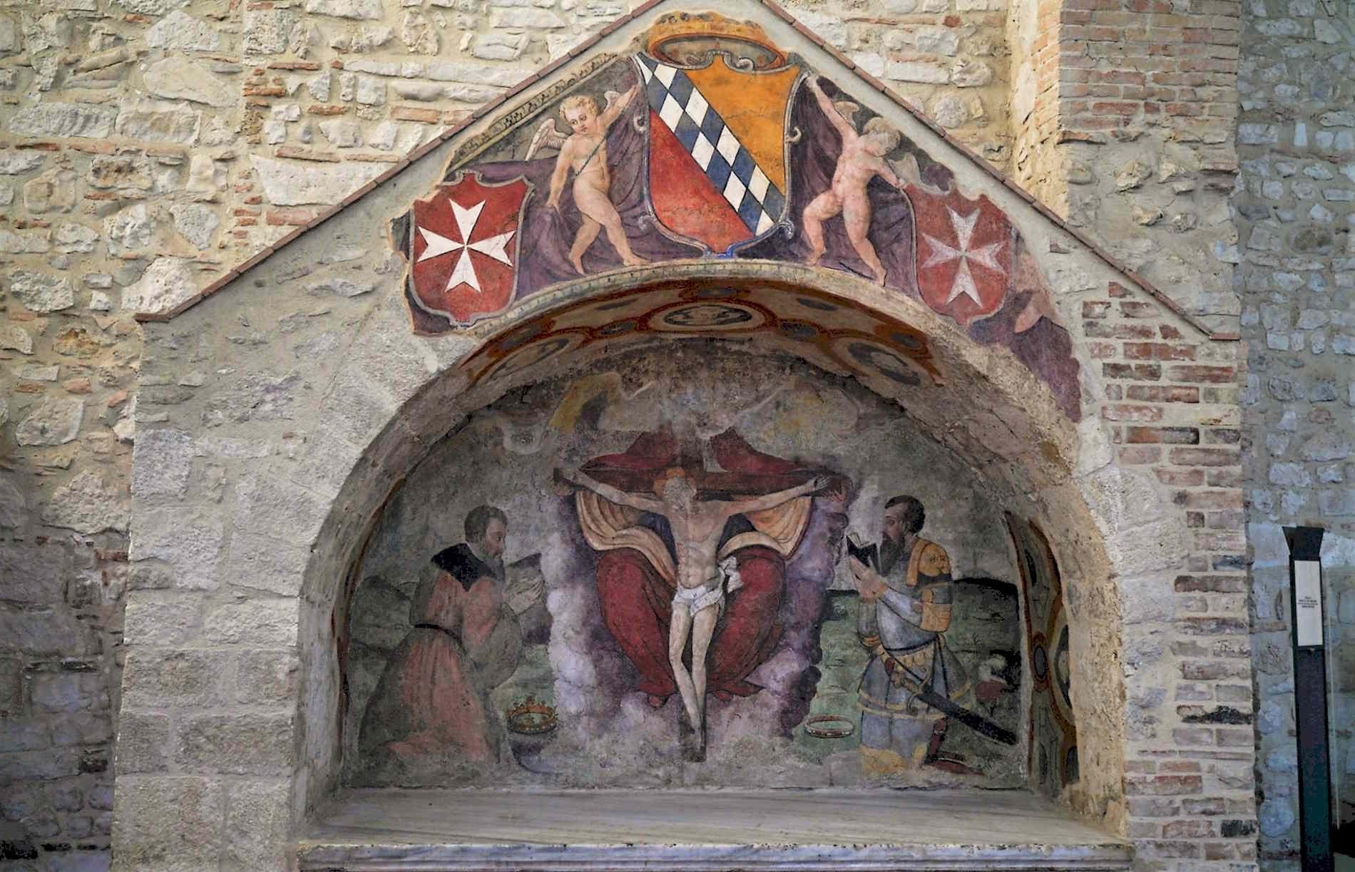Cose da visitare e non perdere in Basilicata - Venosa - La Tomba degli Altavilla nella Chiesa Vecchia