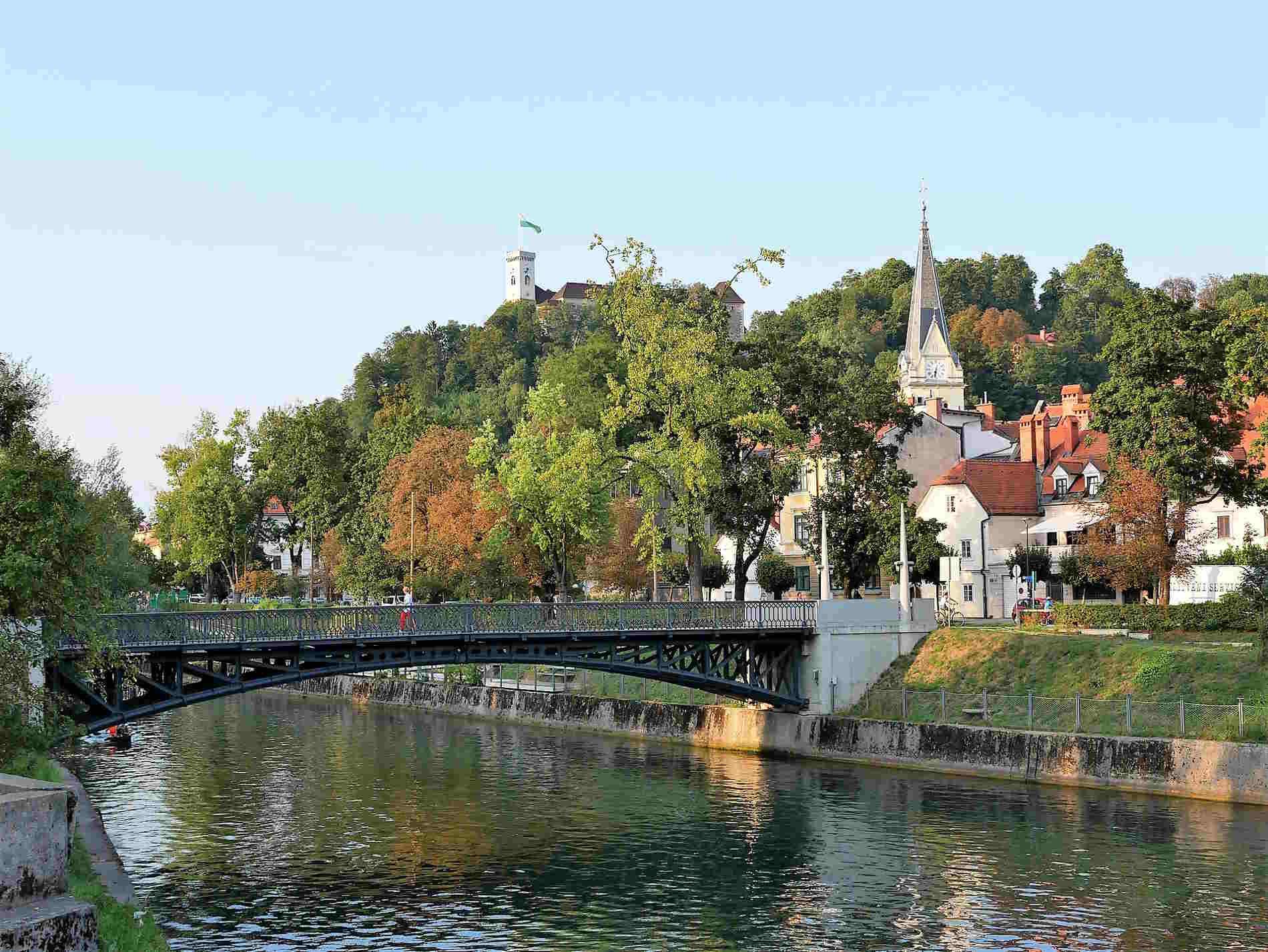 Centro storico di Ljubljana (Lubiana) cose da vedere in un viaggio in Slovenia
