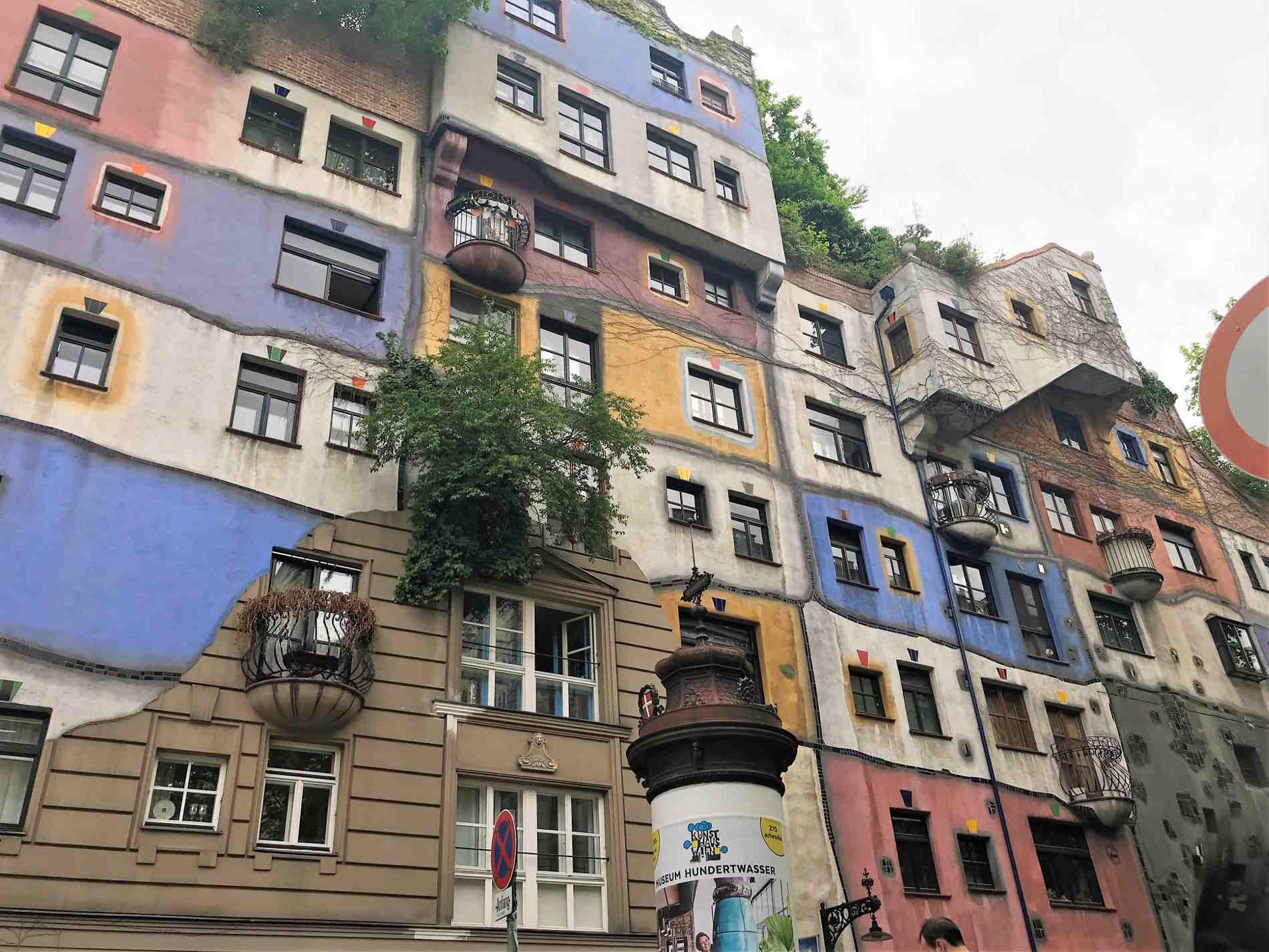 Cosa vedere a Vienna capitale dell'Austria - La Hundertvasserhouse