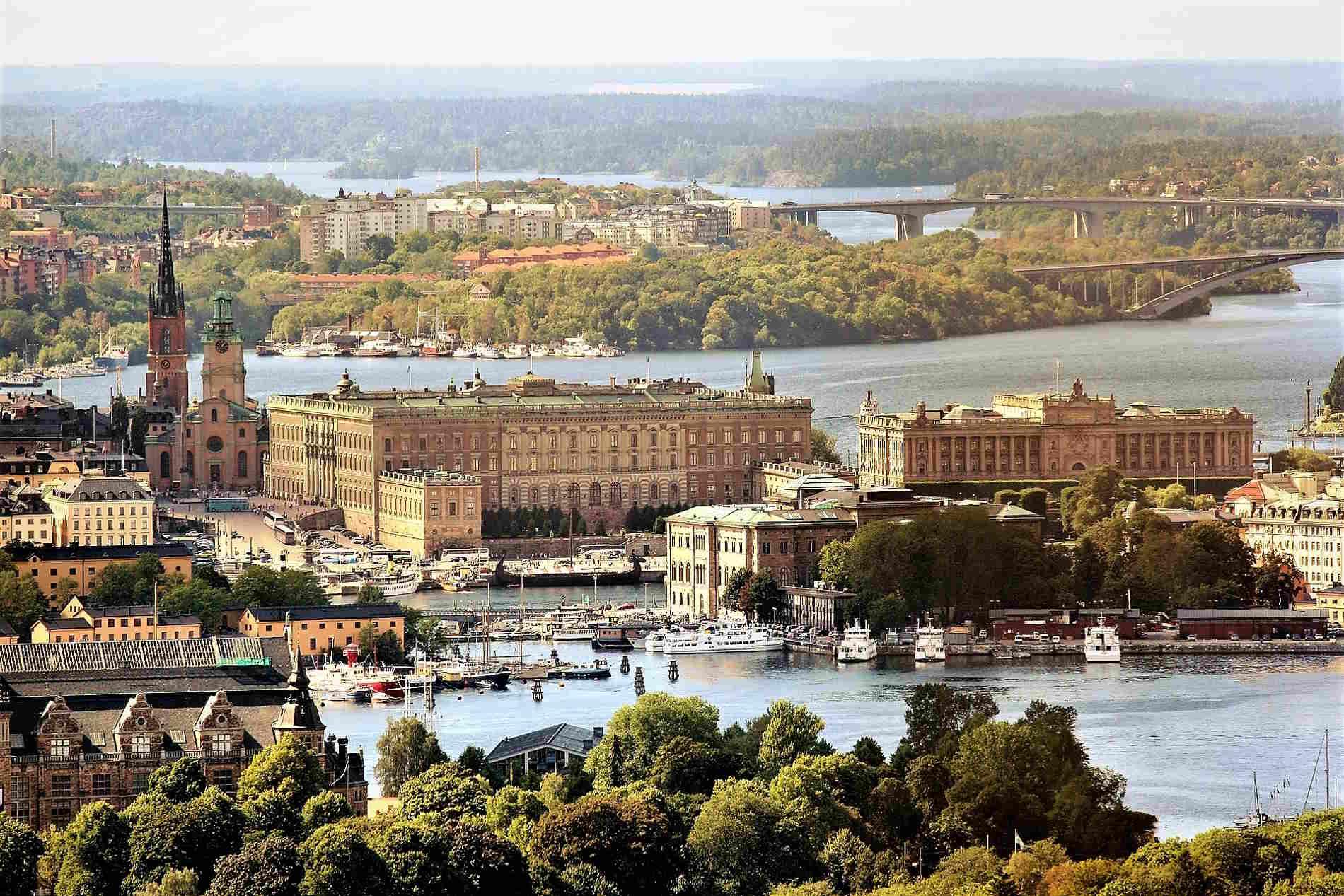 Panorama su Stoccolma capitale della Svezia Viaggio in Europa