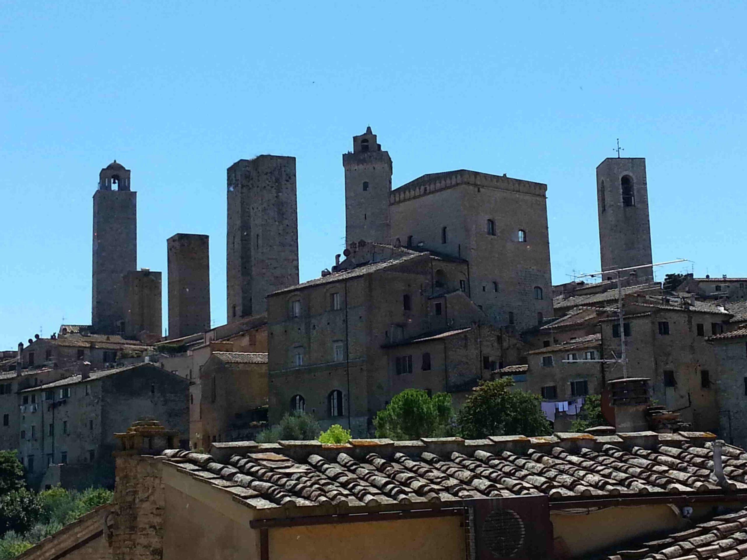 Visitare San Gimignano e dintorni lo skyline della Città