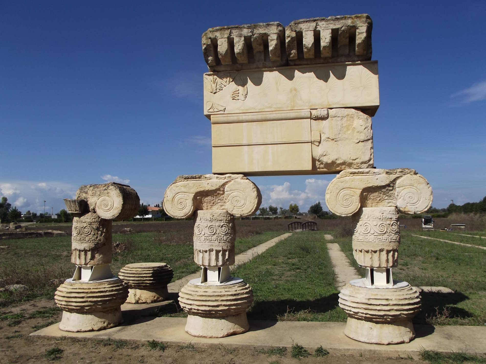 Il Tempio di Artemide a Metaponto fra le cose imperdibili da visitare in Basilicata
