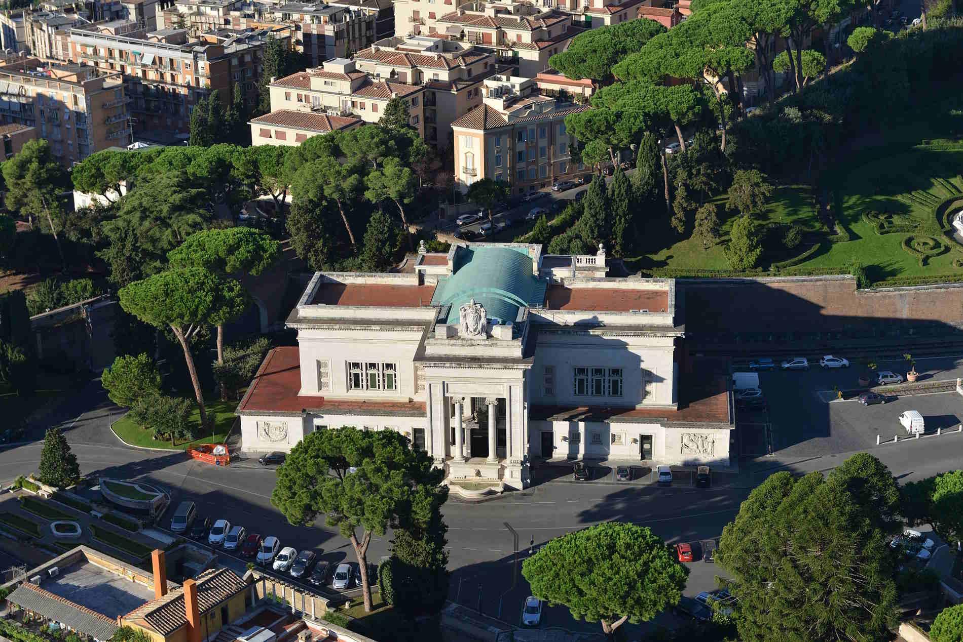 La Stazione dei Treni a Città del Vaticano capitale europea dello Stato del Vaticano Europa