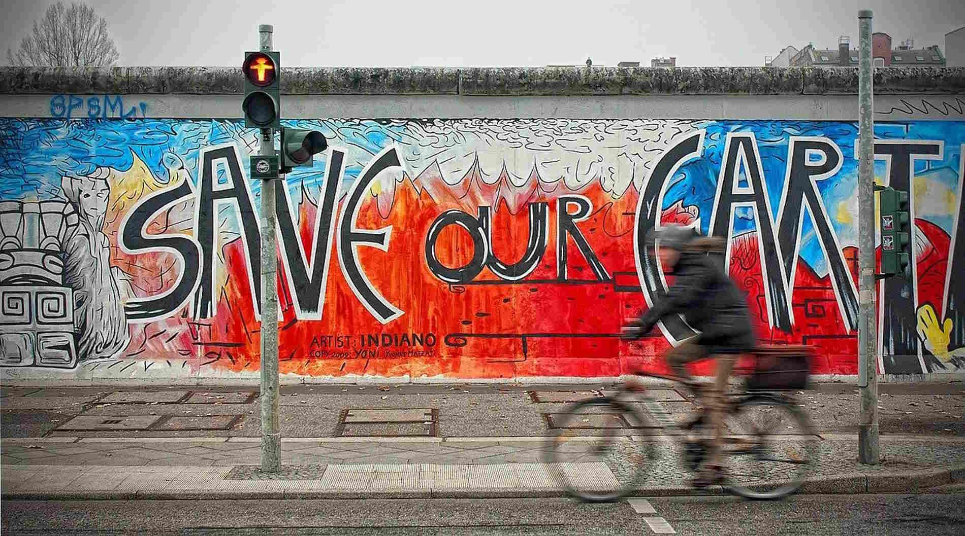 Berlino capitale della Germania street art sul Muro capitali europee