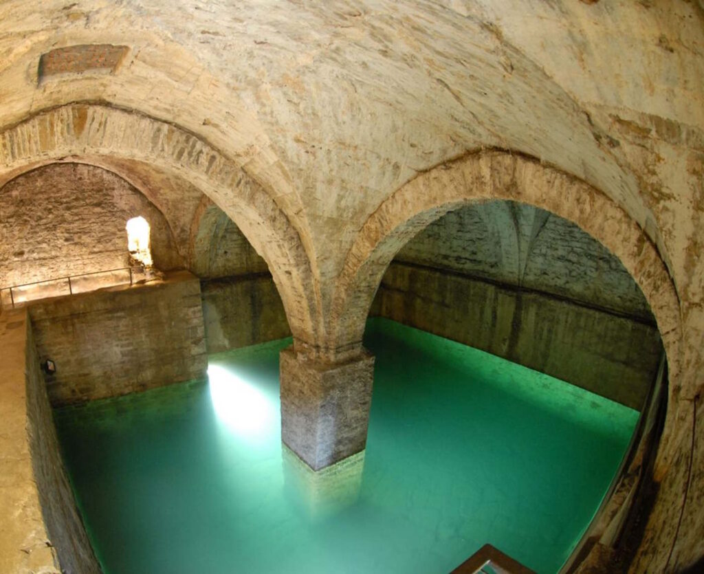 Fontana del Lantro nella Bergamo sotterranea