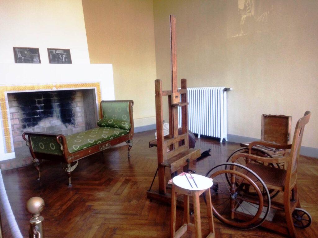 Vecchio atelier di Renor Esposizioni museali da visitare in Europa - Il Museo Renoir a Cagnes-sur-Mer in Costa Azzurra