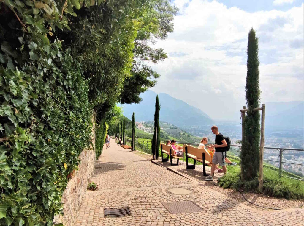 Cosa fare a Castel Tirolo e dintorni - La passeggiata Falkner