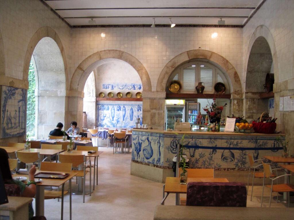 Caffetteria del Museo delle Azulejos a Lisbona