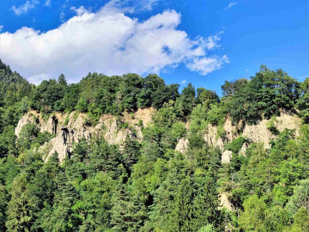Cosa vedere nei dintorni di Castel Tirolo - Le piramidi di di Caines-Tirolo