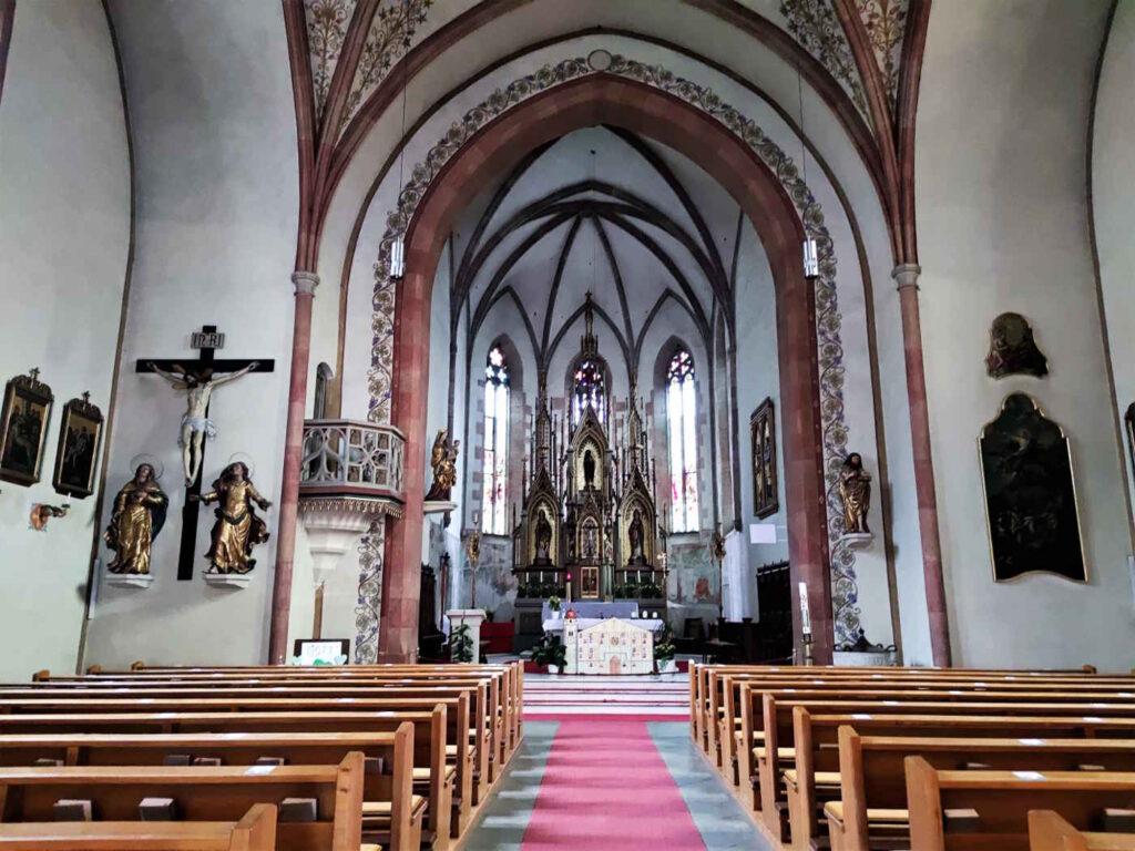Cosa vedere a Castel Tirolo e dintorni - La chiesa di San Giovanni a Tirolo