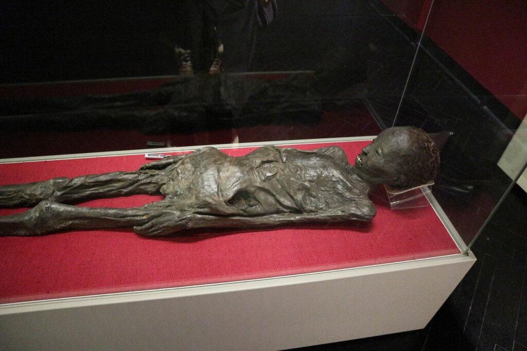 Mummia egizia di Zagabria Croazia