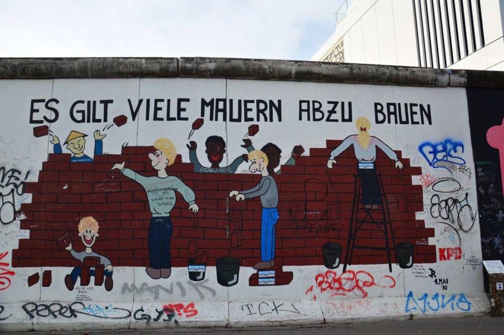 Graffiti e Street Art nei I Musei del Muro di Berlino
