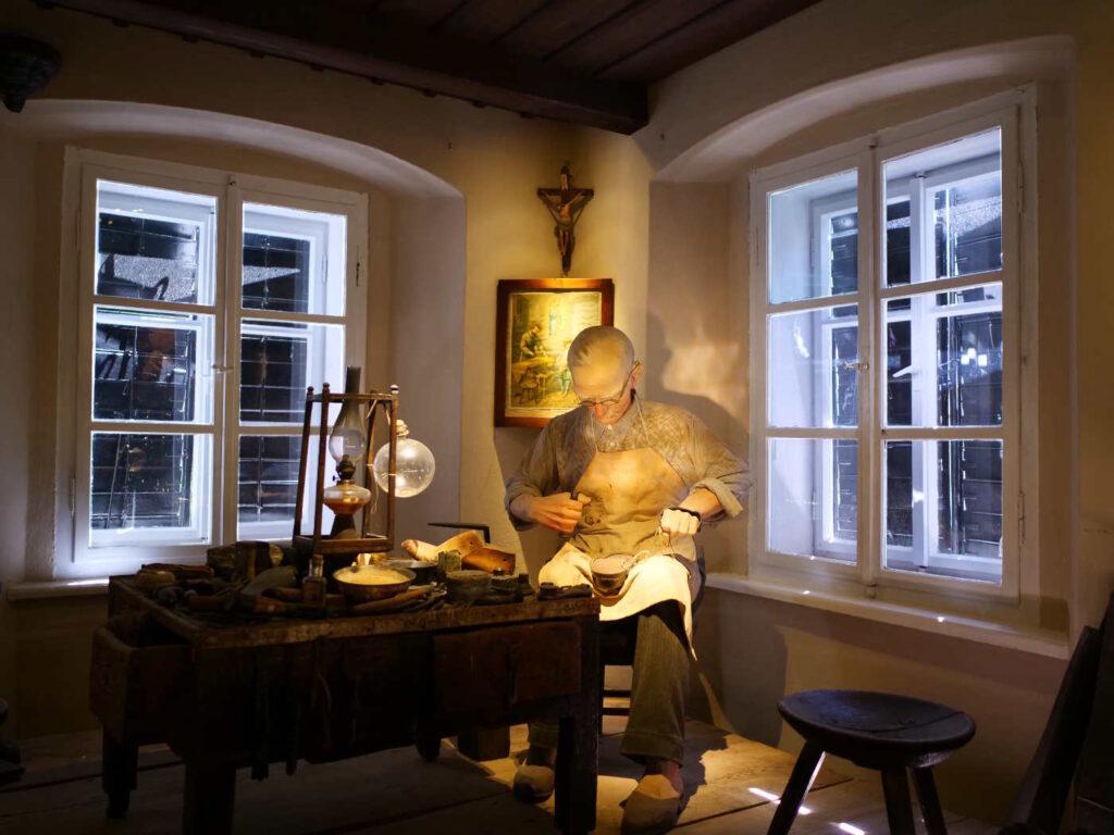 Musei europei da visitare - Musei europei da visitare Il laboratorio di un ciabattino nel museo di Tržic