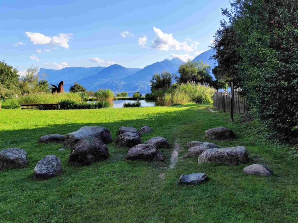 Cosa fare a Tirolo con i bambini - Giocare nel Parco Burglehen