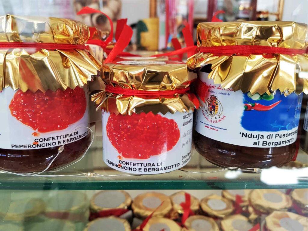 Prodotti alimentari che utilizzano l'essenza o il succo del Bergamotto